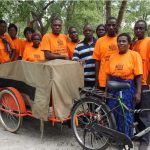 Maxims support Bicycle Ambulances Scheme in Africa